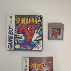 Videojuegos y Consolas: SPIDERMAN 2 SPIDER-MAN GAMEBOY GAME BOY COLOR NO ORIGINAL. Lote 189240100