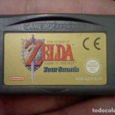 Videojuegos y Consolas: ZELDA FOUR SWORDS NINTENDO GB GAME BOY AGB AZLP ESP FUNCIONANDO. Lote 189471130