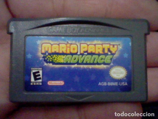 MARIO PARTY ADVANCE NINTENDO GB GAME BOY AGB B8ME USA FUNCIONANDO (Juguetes - Videojuegos y Consolas - Nintendo - GameBoy)