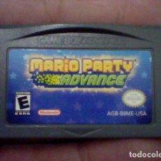 Videojuegos y Consolas: MARIO PARTY ADVANCE NINTENDO GB GAME BOY AGB B8ME USA FUNCIONANDO. Lote 189471436