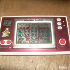 Videogiochi e Consoli: MARIO´S CEMENT FACTORY, NINTENDO 1983. ML-102. GAME & WATCH. MARIO BROS, MAQUINITA. Lote 113346483