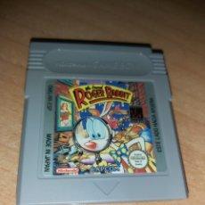 Videojuegos y Consolas: ROGER RABBIT GAME BOY NINTENDO GAMEBOY. Lote 190178190