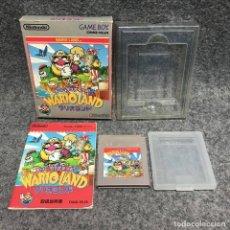 Videojuegos y Consolas: SUPER MARIO LAND 3 WARIO LAND NINTENDO GAME BOY GB. Lote 190210090
