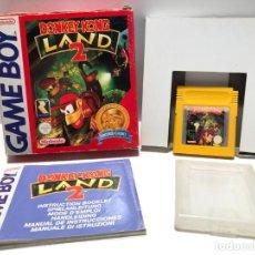 Videojuegos y Consolas: DONKEY KONG LAND 2 NINTENDO GAME BOY. Lote 190330816