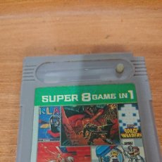 Videojuegos y Consolas: SUPER 8 GAME IN 1 NINTENDO GAME BOY. Lote 190438660