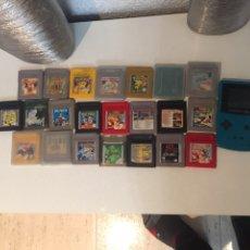 Jeux Vidéo et Consoles: ANTIGUA CONSOLA GAME BOY CON 22 JUEGOS. Lote 190785195