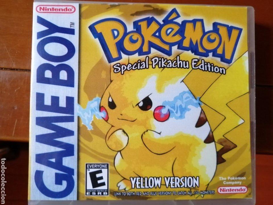 JUEGO POKÉMON AMARILLO PARA NINTENDO GAMEBOY (Juguetes - Videojuegos y Consolas - Nintendo - GameBoy)