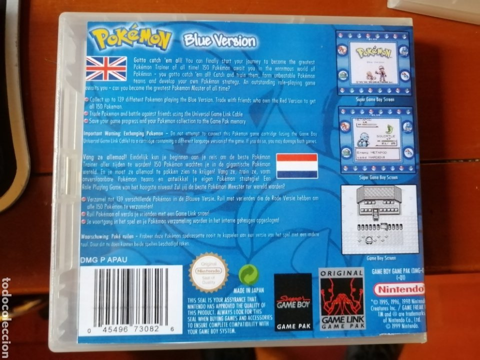 Videojuegos y Consolas: Juego Pokémon Azul para Nintendo Gameboy - Foto 2 - 190896440