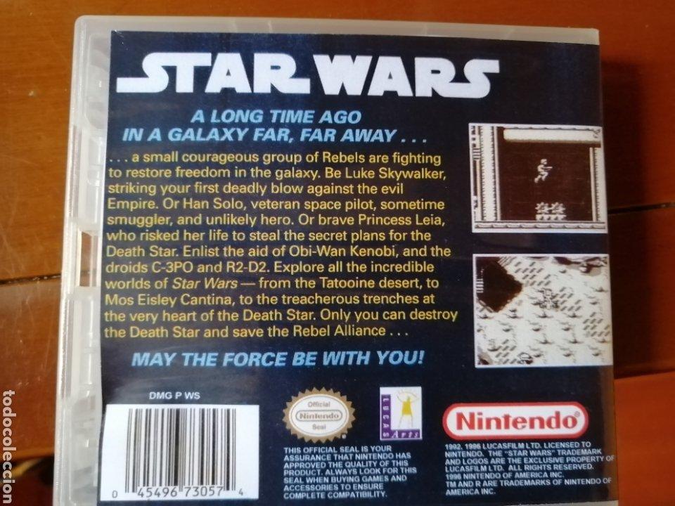 Videojuegos y Consolas: Juego Star Wars para Nintendo Gameboy - Foto 2 - 190896466