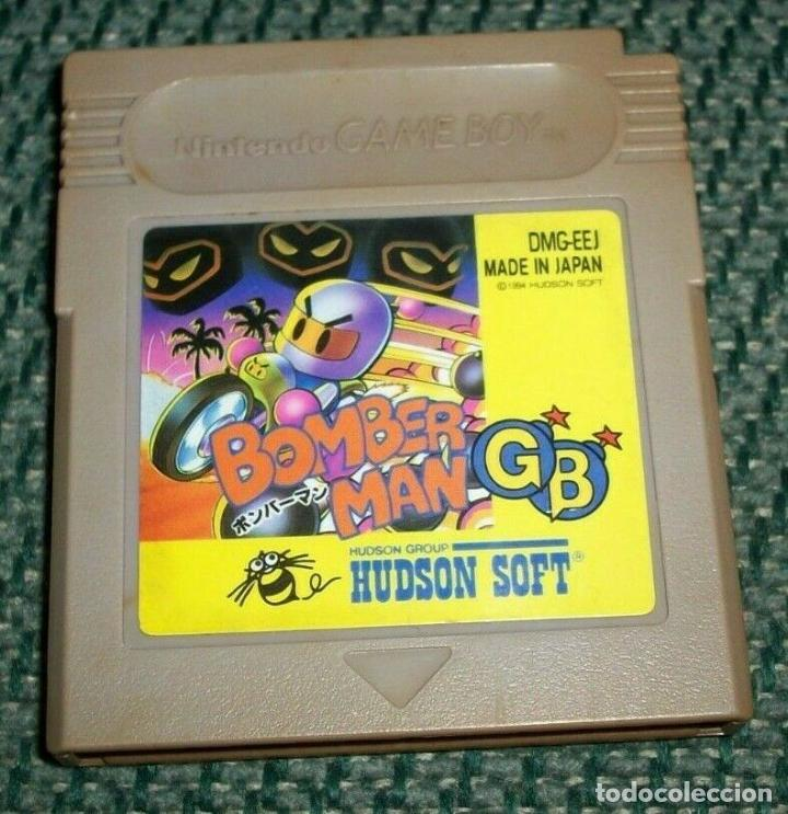 BOMBERMAN GB GB BOMBER MAN NINTENDO GAME BOY GBC JAPONÉS NTSC SUPER SÚPER (Juguetes - Videojuegos y Consolas - Nintendo - GameBoy)