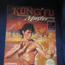 Videojuegos y Consolas: POSTER KUNG-FU MASTER GAMEBOY MATUTANO. Lote 193013045