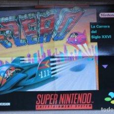 Videojuegos y Consolas: POSTER GAMEBOY NINTENDO MATUTANO F-ZERO. Lote 193055555