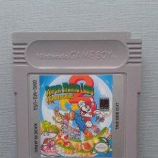 Videojogos e Consolas: JUEGO NINTENDO GAME BOY SUPER MARIO LAND 2 6 GOLDEN COINS SOLO CARTUCHO PAL R9939. Lote 193254973