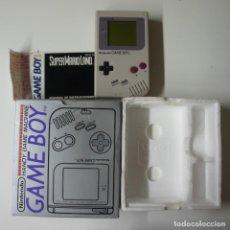 Videojuegos y Consolas: NINTENDO HANDY GAME MACHINE GAME BOY DMG-01 CON CAJA ORIGINAL Y UN JUEGO SUPERMARIOLAND .. Lote 193617337