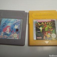 Videojuegos y Consolas: 2 JUEGOS NINTENDO GAMEBOY. Lote 193883958