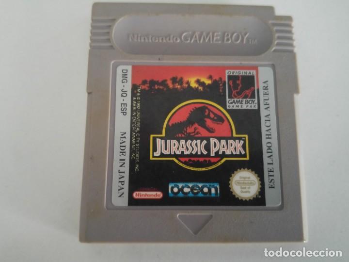 JURASSIC PARK NINTENDO GAMEBOY (Juguetes - Videojuegos y Consolas - Nintendo - GameBoy)