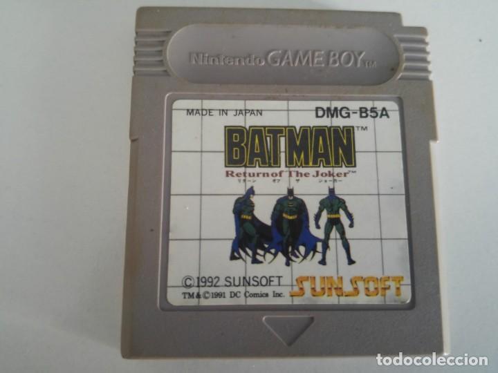 BATMAN RETURN OF THE JOKER NINTENDO GAMEBOY (Juguetes - Videojuegos y Consolas - Nintendo - GameBoy)