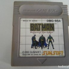 Videojuegos y Consolas: BATMAN RETURN OF THE JOKER NINTENDO GAMEBOY . Lote 194112606