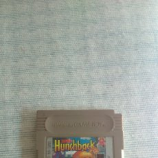 Videojuegos y Consolas: JUEGO DE NINTENDO GAME BOY, SUPER HUNCHBACK. Lote 194127917