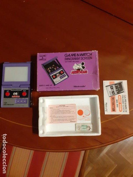 NINTENDO PANORAMA MICKEY MOUSE 1984 GAME WATCH (Juguetes - Videojuegos y Consolas - Nintendo - GameBoy)