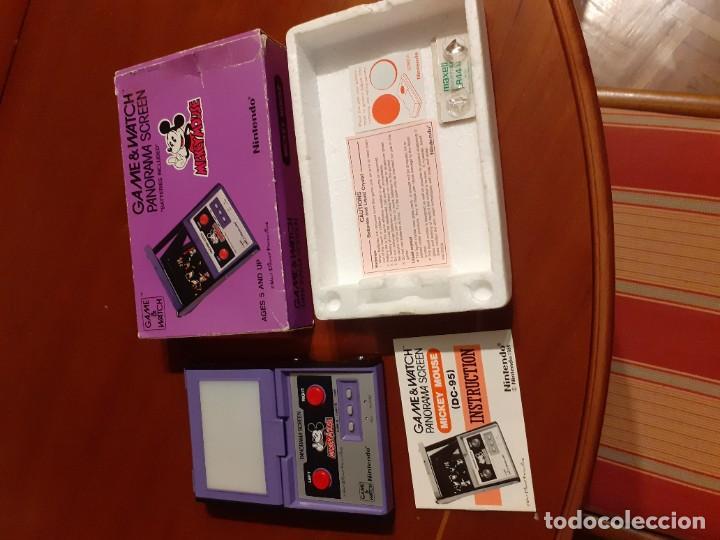 Videojuegos y Consolas: NINTENDO PANORAMA MICKEY MOUSE 1984 GAME WATCH - Foto 2 - 277735983