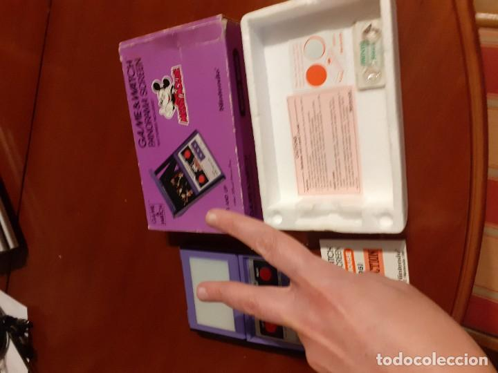 Videojuegos y Consolas: NINTENDO PANORAMA MICKEY MOUSE 1984 GAME WATCH - Foto 5 - 277735983
