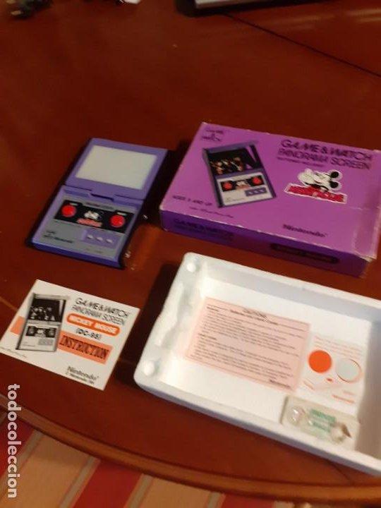 Videojuegos y Consolas: NINTENDO PANORAMA MICKEY MOUSE 1984 GAME WATCH - Foto 7 - 277735983