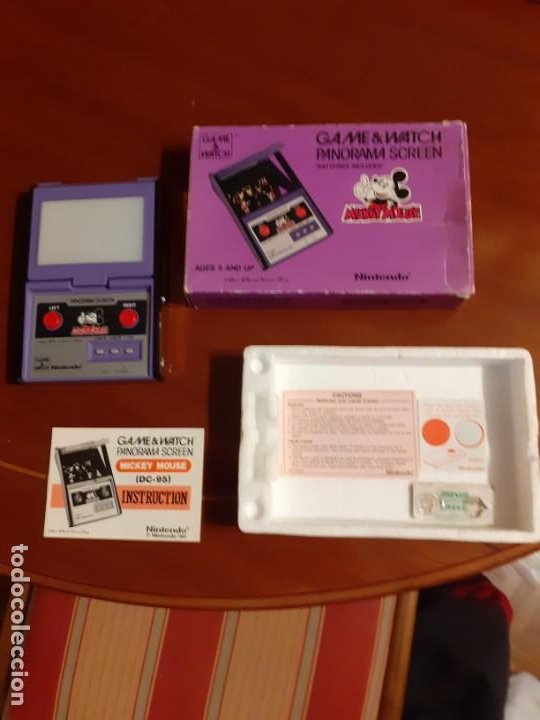 Videojuegos y Consolas: NINTENDO PANORAMA MICKEY MOUSE 1984 GAME WATCH - Foto 8 - 277735983