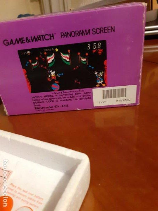 Videojuegos y Consolas: NINTENDO PANORAMA MICKEY MOUSE 1984 GAME WATCH - Foto 10 - 277735983
