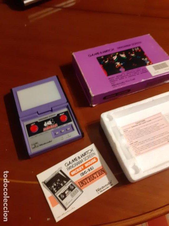 Videojuegos y Consolas: NINTENDO PANORAMA MICKEY MOUSE 1984 GAME WATCH - Foto 19 - 277735983