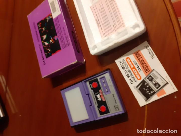 Videojuegos y Consolas: NINTENDO PANORAMA MICKEY MOUSE 1984 GAME WATCH - Foto 20 - 277735983