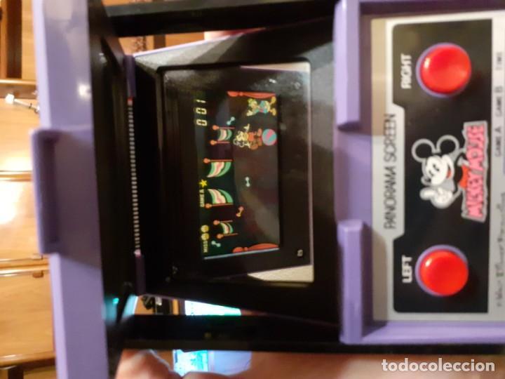 Videojuegos y Consolas: NINTENDO PANORAMA MICKEY MOUSE 1984 GAME WATCH - Foto 23 - 277735983