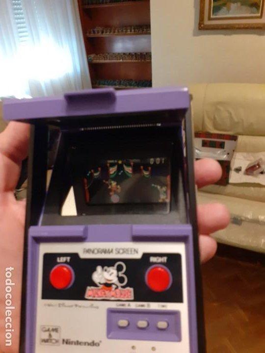 Videojuegos y Consolas: NINTENDO PANORAMA MICKEY MOUSE 1984 GAME WATCH - Foto 24 - 277735983