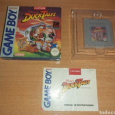 Videojuegos y Consolas: DUCKTALES GAME BOY NINTENDO GAMEBOY. Lote 194160027