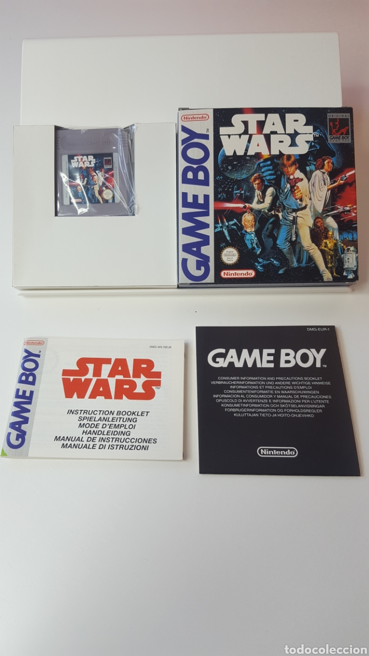 Videojuegos y Consolas: Star wars game boy - Foto 1 - 194208218