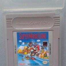 Videojuegos y Consolas: JUEGO NINTENDO GAME BOY SUPER MARIO LAND CARTUCHO + FUNDA PAL R9960. Lote 194367708