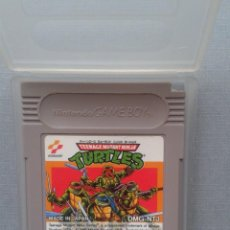 Videojuegos y Consolas: JUEGO NINTENDO GAME BOY TEENAGE MUTANT NINJA TURTLES CARTUCHO + FUNDA PAL R9961. Lote 194367787