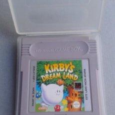 Videojuegos y Consolas: JUEGO NINTENDO GAME BOY KIRBY´S DREAM LAND CARTUCHO + FUNDA PAL ESPAÑA R9964. Lote 194368115
