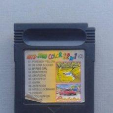 Videojuegos y Consolas: JUEGO NINTENDO GAMEBOY 12 JUEGOS EN 1 POKEMON YELLOW Y MAS SOLO CARTUCHO LEER R10004. Lote 194700438