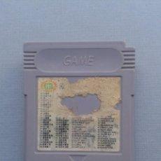 Videojuegos y Consolas: JUEGO NINTENDO GAMEBOY 50 JUEGOS EN 1 TETRIS TURTLES Y MAS SOLO CARTUCHO LEER R10005. Lote 194700496