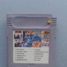 Videojuegos y Consolas: JUEGO NINTENDO GAMEBOY 12 JUEGOS EN 1 BATMAN STAR TREK Y MAS SOLO CARTUCHO LEER R10006. Lote 194700545
