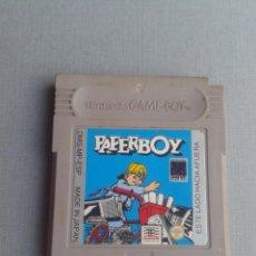 Videojuegos y Consolas: JUEGO NINTENDO GAMEBOY PAPERBOY SOLO CARTUCHO PAL ESPAÑA R10009. Lote 194704063