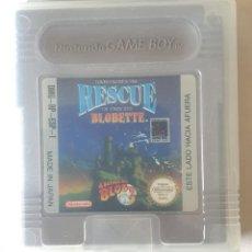 Videojuegos y Consolas: RESCUE BLOBETTE GAME BOY CON CAJA. Lote 195055913