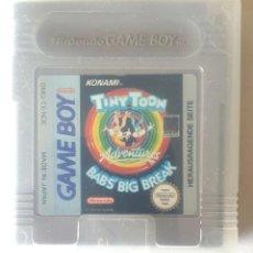 Videojuegos y Consolas: TINY TOON GAME BOY CON CAJA. Lote 195056366