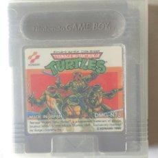 Videojuegos y Consolas: TEENAGE MUTANT NINJA TURTLES GAME BOY CON CAJA. Lote 195056431