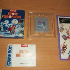 Videojuegos y Consolas: SNOW BROTHERS GAME BOY NINTENDO GAMEBOY. Lote 195154311