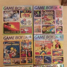 Videojuegos y Consolas: LOTE 6 JUEGOS GAME BOY COLOR. Lote 195250705