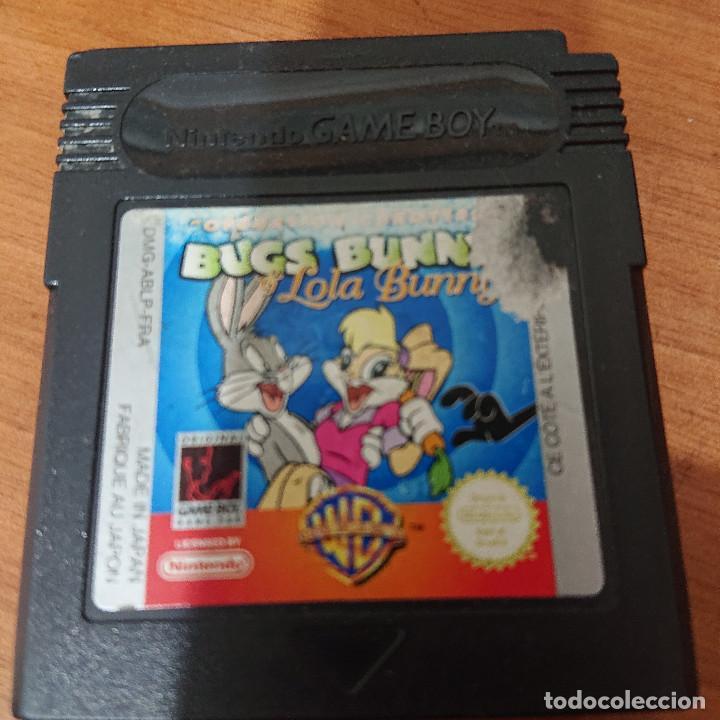 BUGS BUNNY LOLA BUNNY GAME BOY CARTUCHO (Juguetes - Videojuegos y Consolas - Nintendo - GameBoy)
