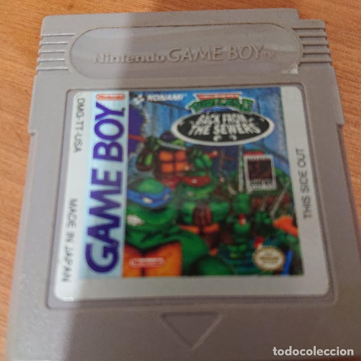 TURTLES II GAME BOY CARTUCHO (Juguetes - Videojuegos y Consolas - Nintendo - GameBoy)