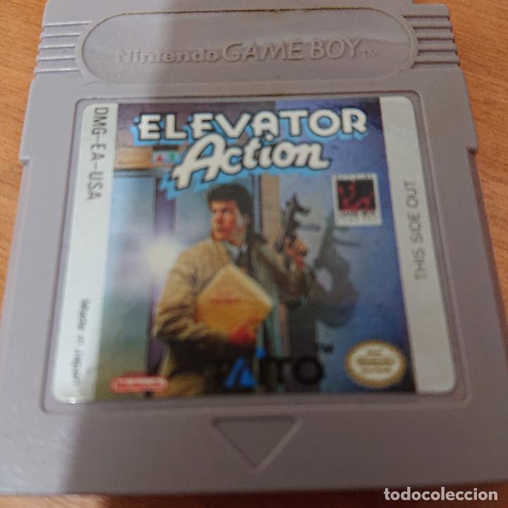 ELEVATOR ACTION GAME BOY CARTUCHO (Juguetes - Videojuegos y Consolas - Nintendo - GameBoy)